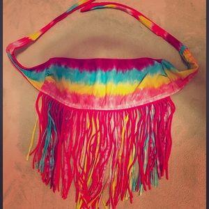 Forever 21 Hippie Fringe Bikini Top